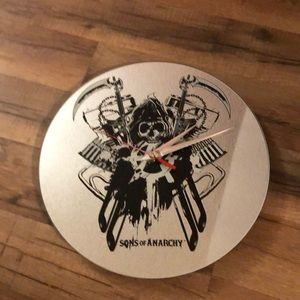 Sons Of Anarch wall clock
